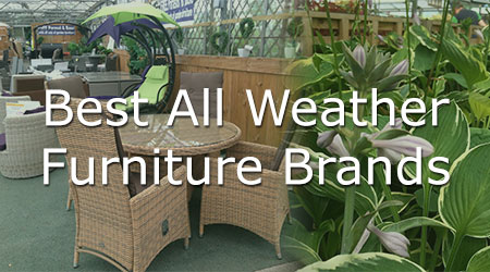 The best brands we've found for all weather furniture